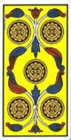 Cinco de oros del tarot