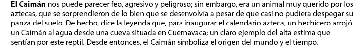 Caiman azteca