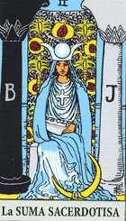 El arcano de la Sacerdotisa