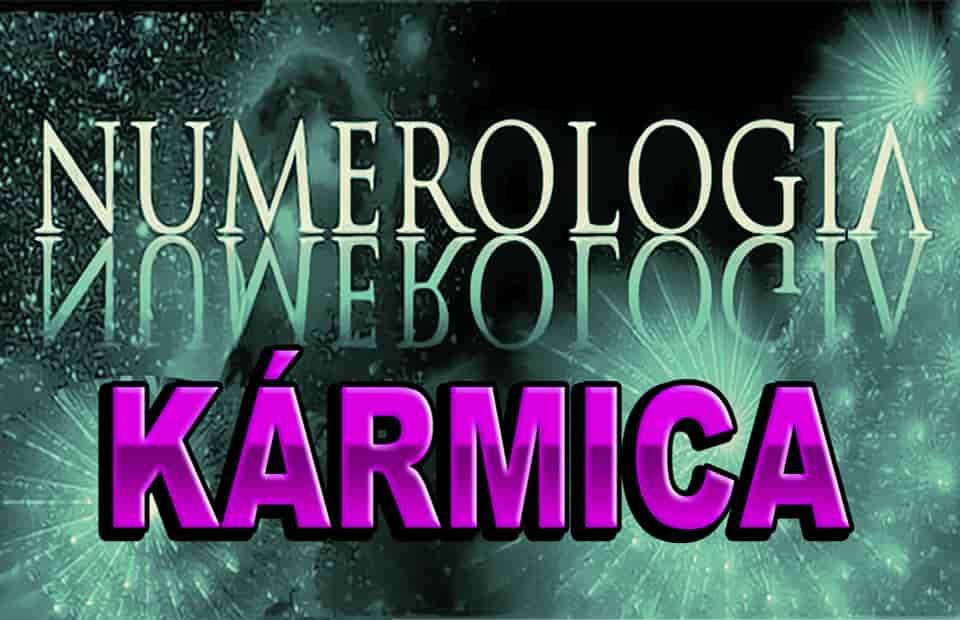 Numerología Karmica