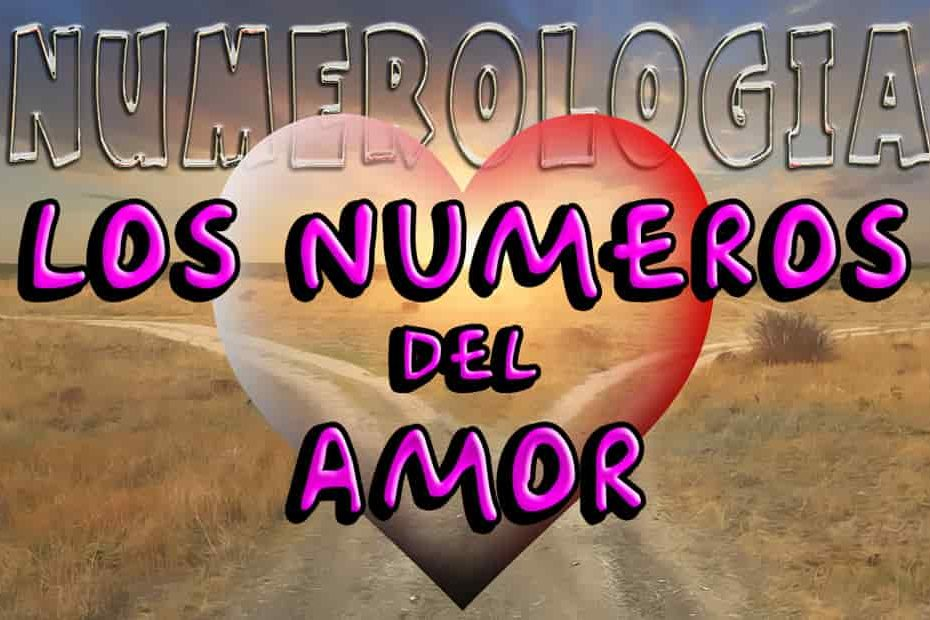 Numeros del amor