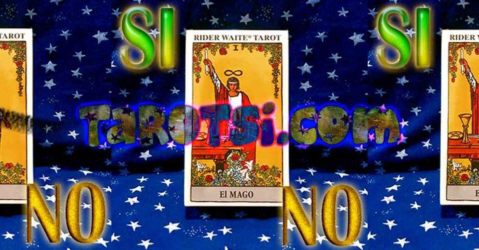 tarot Si o No rider-waite