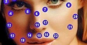 Que significan los lunares en el rostro